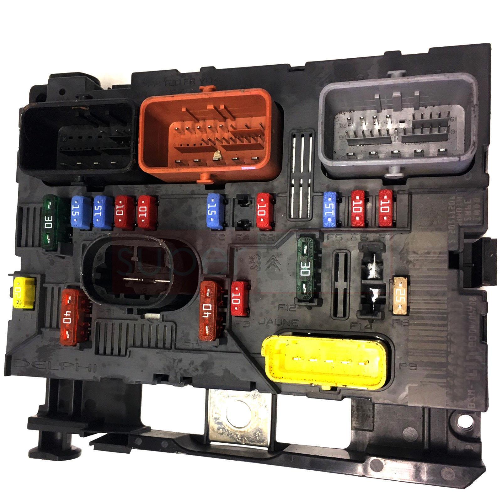 Citroen Peugeot Sicherungskasten Bsm 9667044980 R02